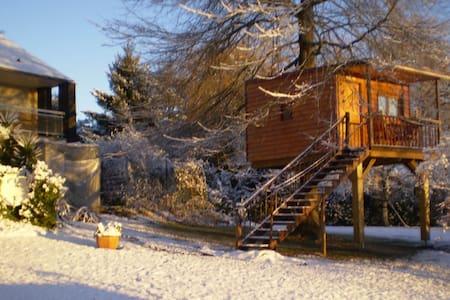 Belle cabane dans les arbres - Treehouse