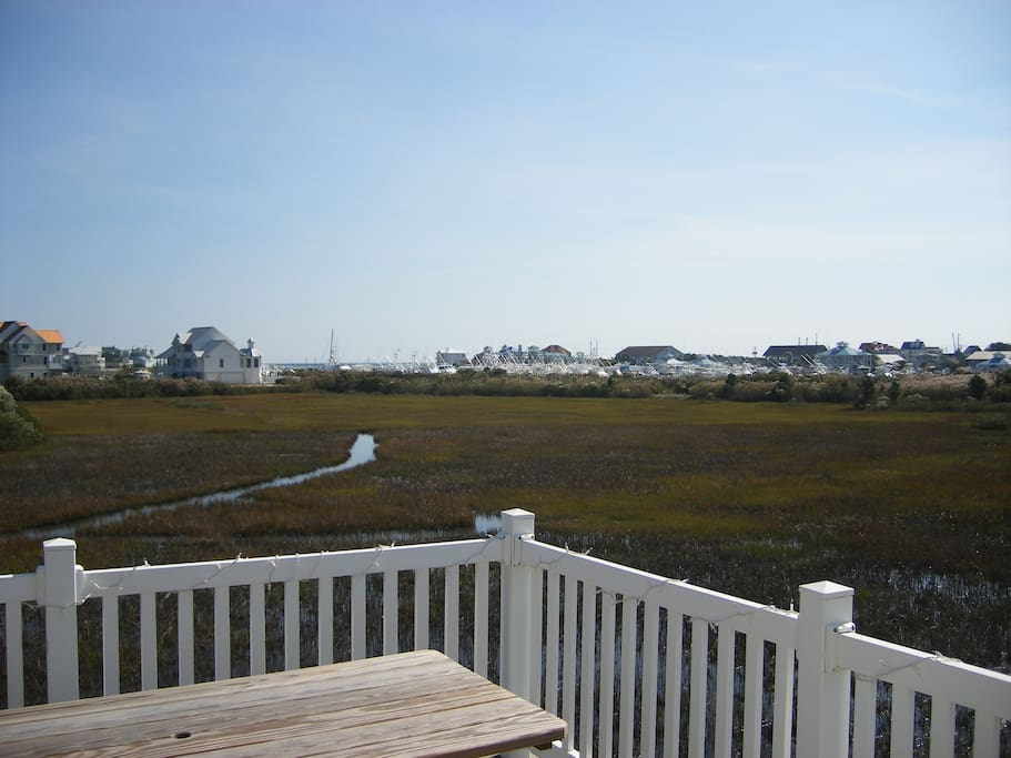 Ocean City Skyline view from deck