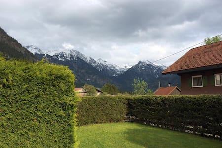 Wohnung im Bergdorf Hinterstein - Daire