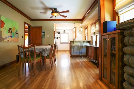 Jazz Age Kansas City Bungalow in West Plaza - House