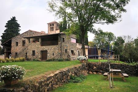 MASIA EN PARQUE NATURAL GARROTXA  - House