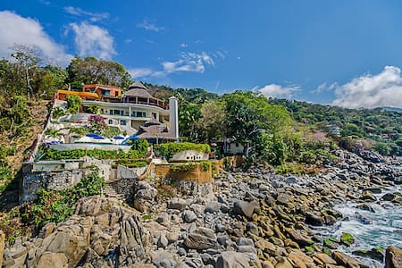 Villa Mia 8 Bedrooms: 107455 - Boca de Tomatlan - Villa