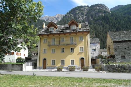 Casa Titta - Formazza - Sommerhus/hytte