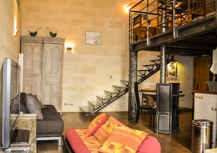 Loft appartment in Montorgueil (2e)