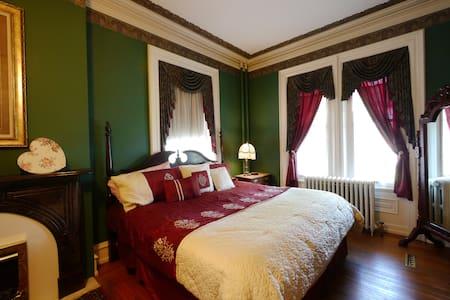 greystone manor victorian Inn  - Szoba reggelivel