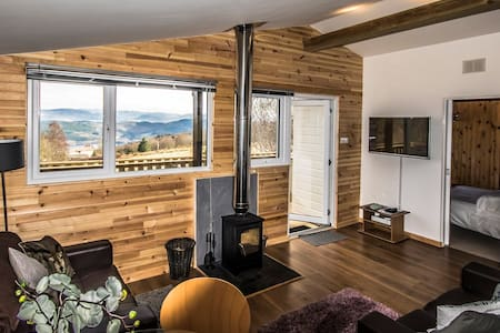 Ancarraig Lodges Self-Catering Above Loch Ness #10 - Bunloit - Chalet