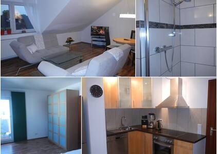 Bright 2-room apartment top located - Lejlighed