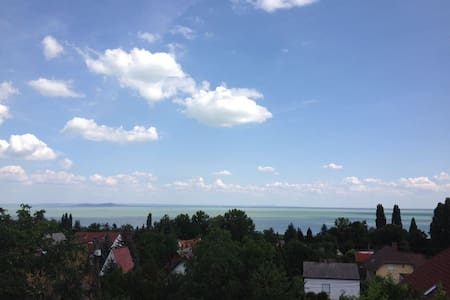 Familienapartement bis für 5 Personen am Balaton - Appartement