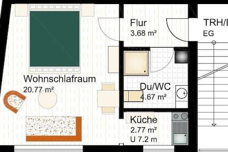 1 Zimmerappartement in Altstadt Oppenheim - Wohnung