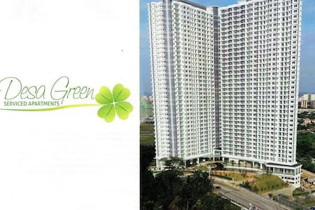 Kuala Lumpur - Desa Green Serviced Apartment 2Bedr - Lakás