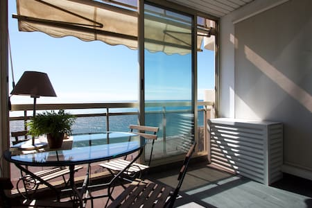 Lovely flat A/C Promenade Sea view - Nice - Appartement