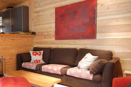Chalet Sapin 2 facing the slopes 10 people | Serre Chevalier | Alpes France - Chatka w górach