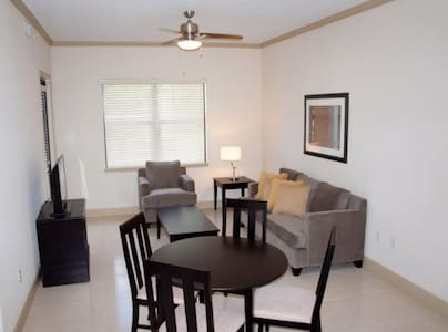 The apartments include modern furnishings plus all house wares. We are strategically located close to major highways, hospitals, shopping malls, and restaurants.