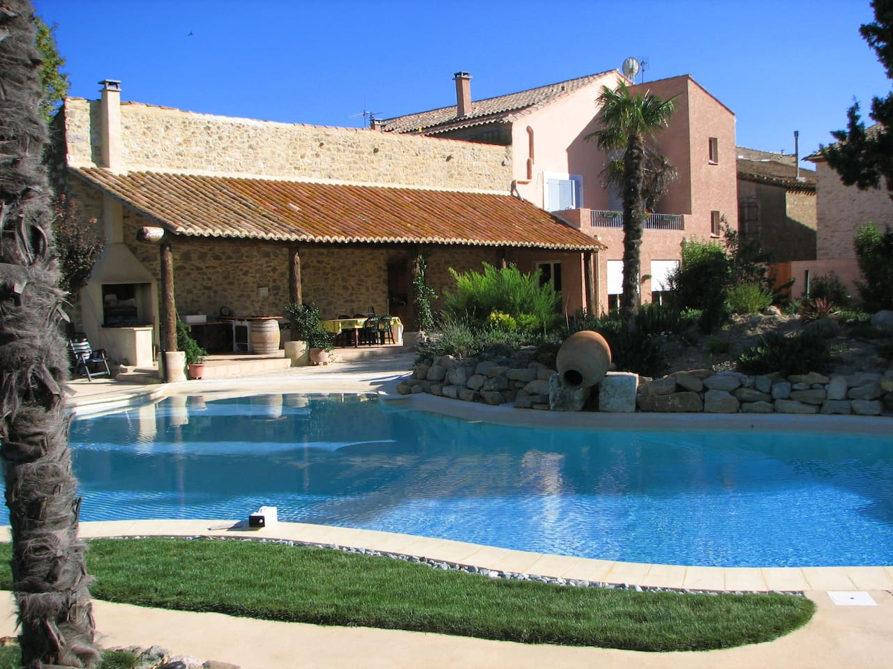 Le coq du nord - Pool and covered terrace