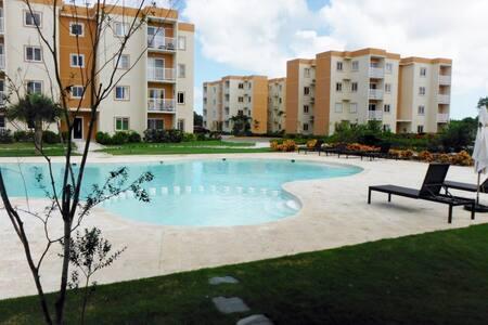 Apartment with pool at Punta Cana - Huoneisto