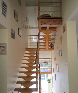 Chambre dans belle maison calme, près des Pyrénées - Ev