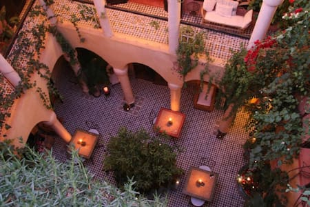 Traditional Riad - Marrakech Medina
