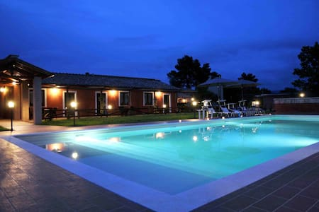 COUNTRY APARTMENT+POOL+HORSE SCHOOL - San Liberato di Narni - Bed & Breakfast
