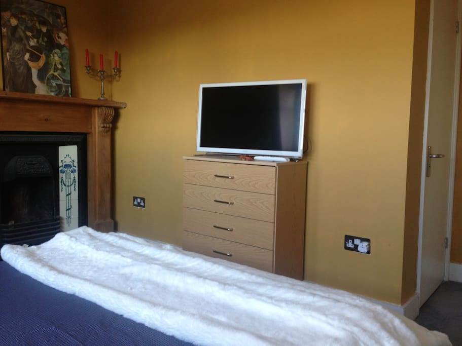 your own brand new flat screen TV