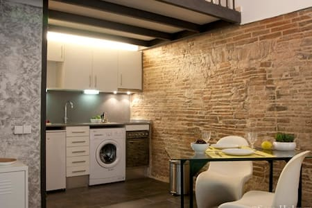 OPEN SPACE RAVAL full equipped+WIFI - Barcelona - Apartment