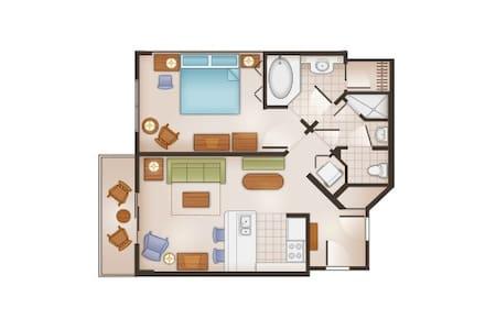DISNEY Saratoga Springs Resort - Orlando - Villa