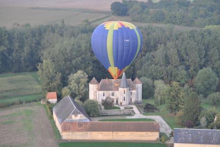 Castle at 80km from Paris - Boigneville - Yermenonville - Castle