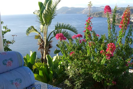 Typical house with wonderful view  - Lipari