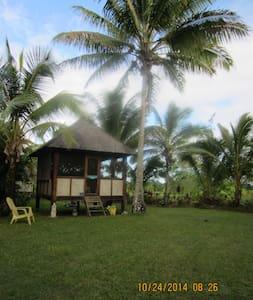 Cabin\ Bali Hut, tropical paradise - Kisház