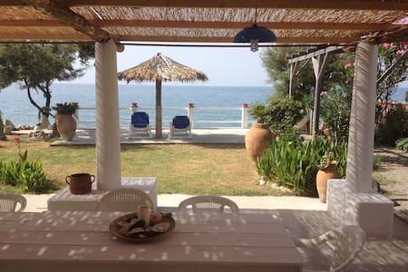 Villetta 4/5p. con spiaggia privata - Haus