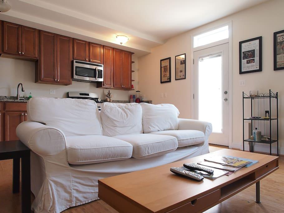 Living Room/1BR condo