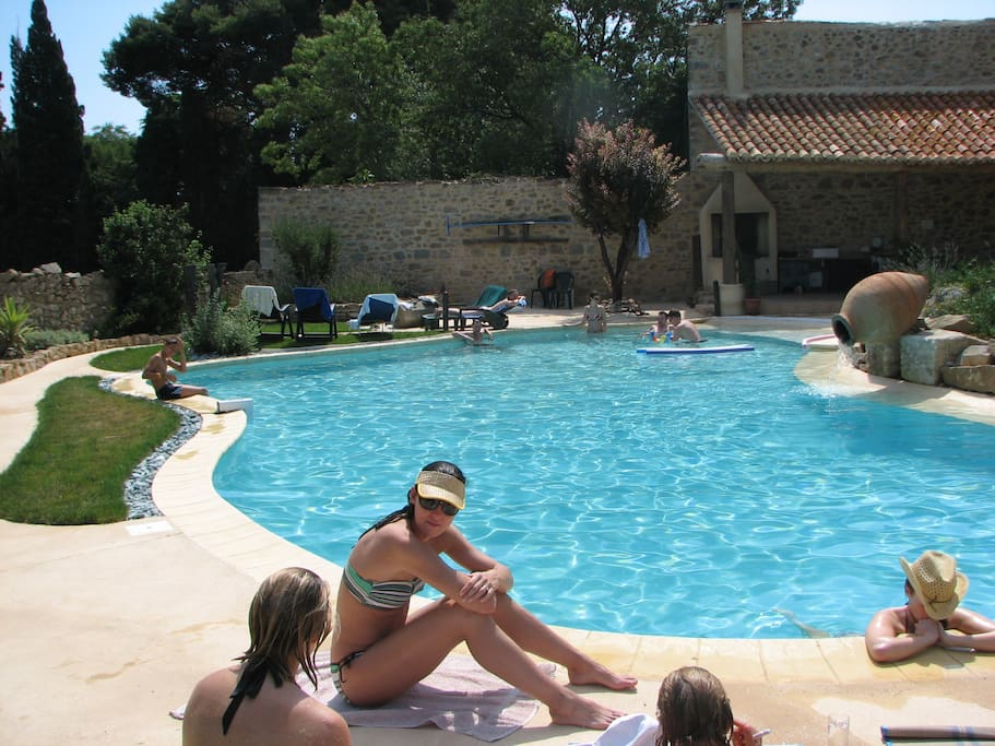 Le coq du nord - relax by the pool
