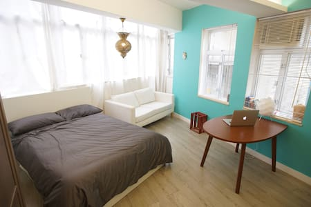 Bright & spacious walk-up studio (Poho, HK Island) - Hong Kong - Apartment
