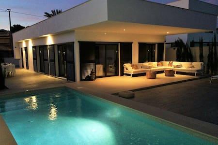Modern design villa with private pool in Albir - Villa