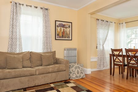 Updated/Private 2 BR, 15 min to BOS