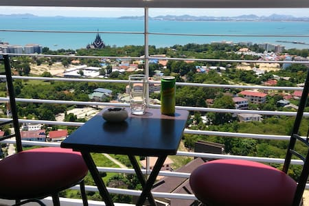 Sea View Studio Pattaya (404) - Apartment