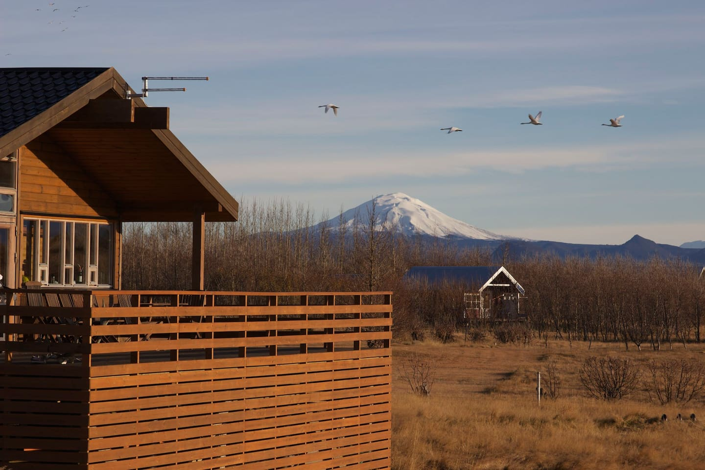 Mount Hekla The house