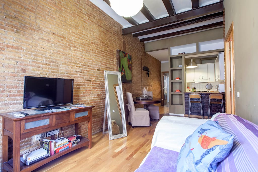5*****APARTMENT REALLY CENTRAL/wifi