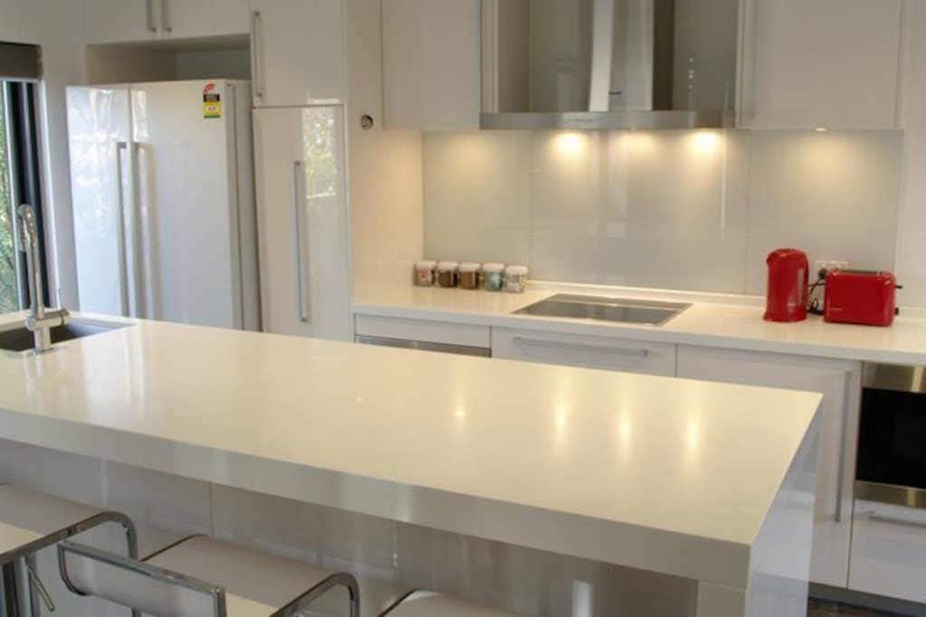 Entertainers kitchen which is fully equipped