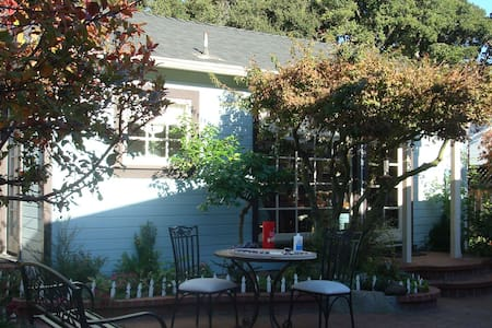 Alameda Cottage in a Garden Setting