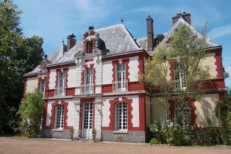 Spacious room in lovely Chateau - Bed & Breakfast