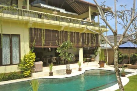 have a luxury villa