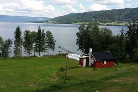 Nice, charming cottage by the lake. Buskerud,Modum - Cottage
