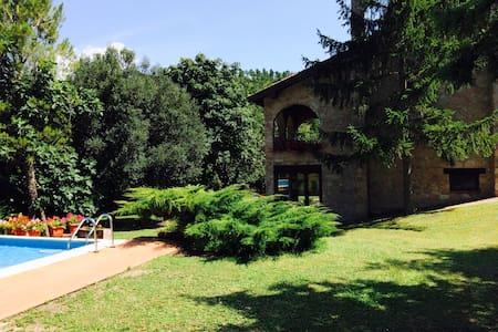Chalet privato con piscina - swimming pool - Esanatoglia - Villa