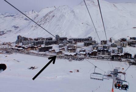 Snow pad for 4, Tignes, Val Claret - Apartment