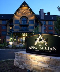 Appalachian Lodge Top Floor w/views - Appartement