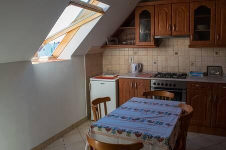 Spacious sunny flat in downtown Szombathely - Apartmen