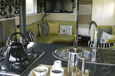 Luxuary Airstream Caravan Close to Jurassic Coast - Altro