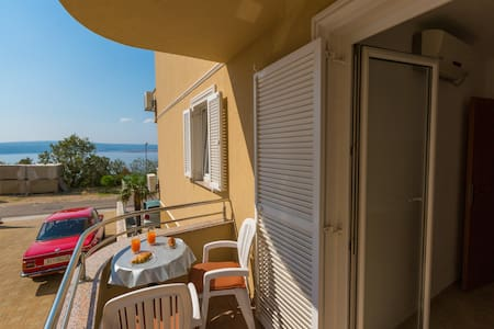 Adria 1 apartment for 2 persons with common pool - Apartmen