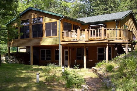 Beautiful Lake View House Minutes from Rhinelander - Ház