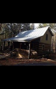 Log cabin in private setting - Cabin